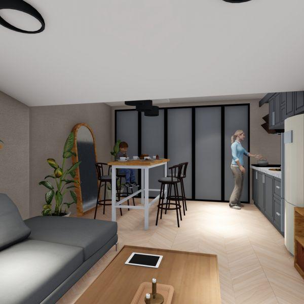 Çatı Katı İç Mimari Projesi